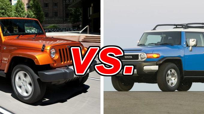 Jeep Wrangler Vs Toyota Fj Carsdirect