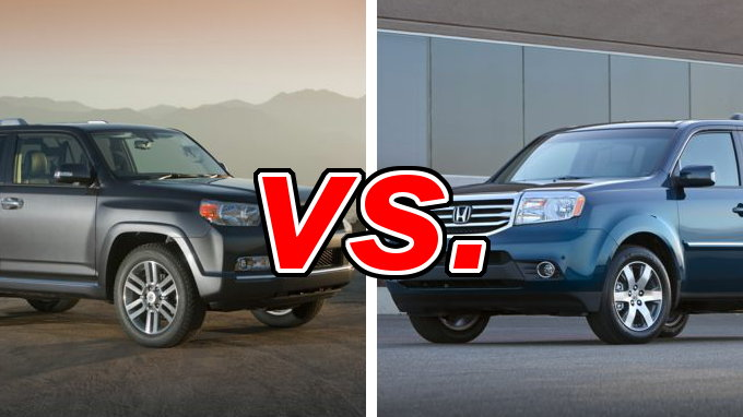 toyota 4runner vs honda pilot carsdirect. Black Bedroom Furniture Sets. Home Design Ideas