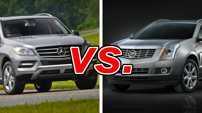 Build Your Own Audi >> Cadillac SRX vs. Mercedes-Benz ML350 - CarsDirect