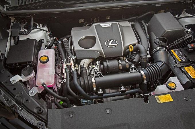 2015 Lexus NX 200t engine