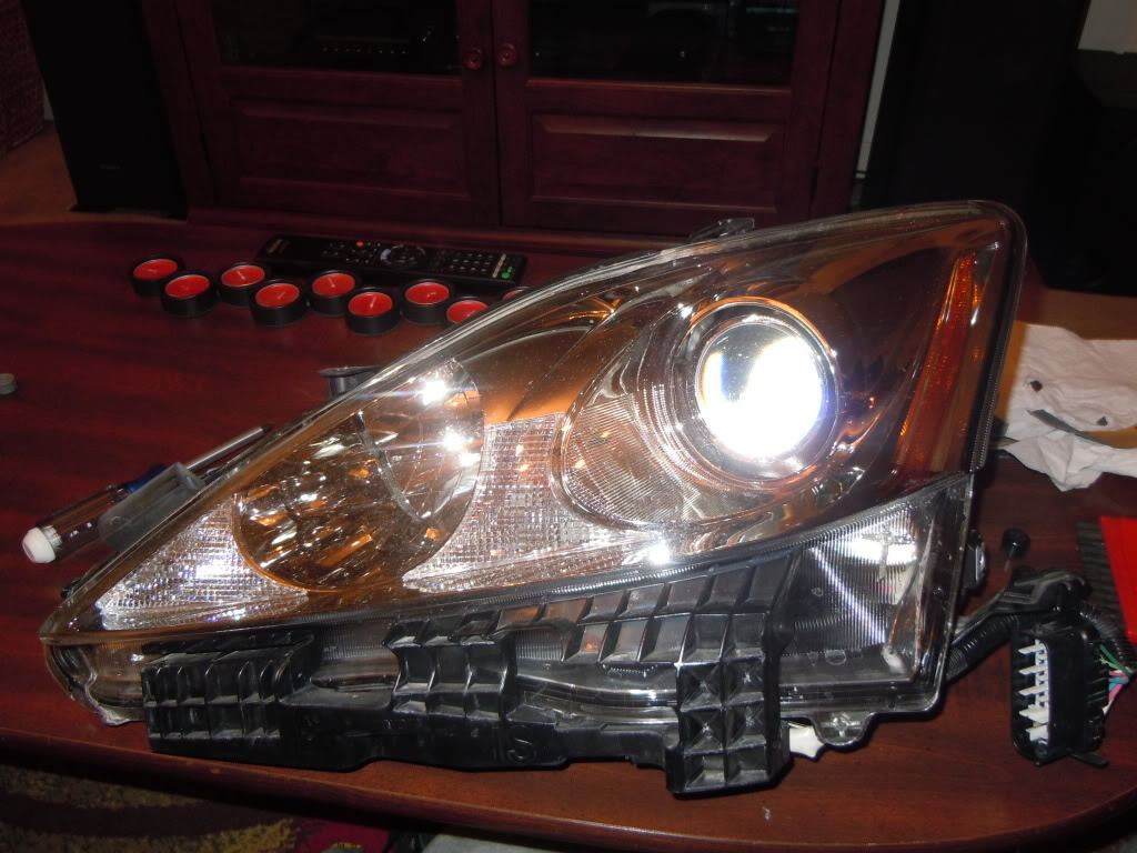 Are On Your Headlights : Lexus is how to black out your headlights clublexus