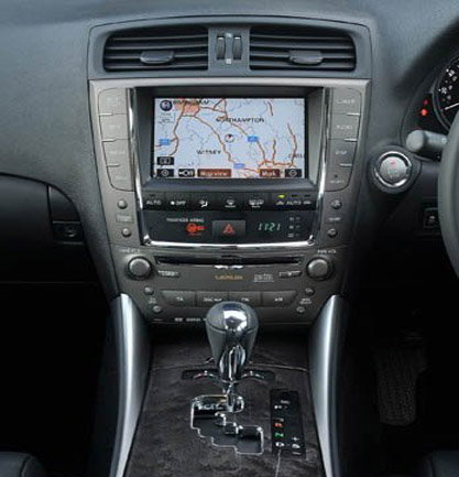 Lexus Is How To Install Oem Navigation System Clublexus