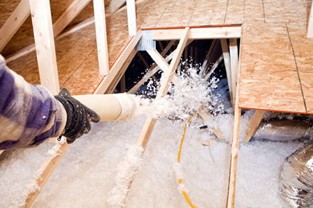 Installing blown in insulation 3 tips for Loose fill fiberglass insulation