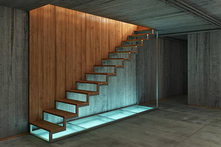 guidelines for building basement stairs