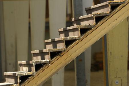 options for finishing basement steps