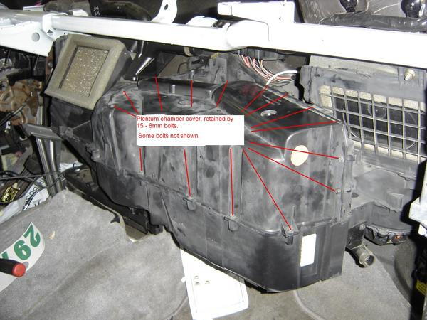 ford f250 replace blend door how to