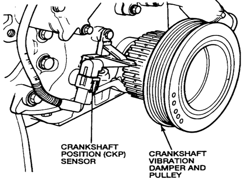 crankshaft 27018 car repair world ford f 150 f 250 how to replace crankshaft  at webbmarketing.co