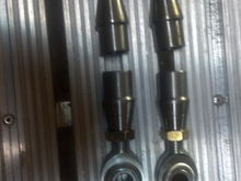 Heim Joint Rod Ends for Radius Rods