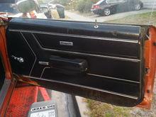 1969 triple black GTO LQ4