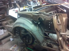 65 mustang converible project