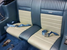 New carpet and seat covers.