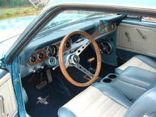 new interior, Grant Steering Wheel