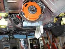 Centerforce stage 3 clutch with fidanza 12lb flywheel