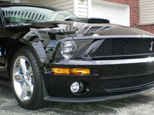 100 0691 This is the New Shelby front end that I just put on. Now to replace the hood and Rims. (old pic's)
