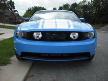 2010 Grabber Blue Mustang GT Premium