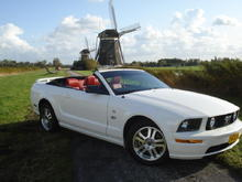 "The car was photographed at ""The three Mills"" in Stompwijk near The Hague, Holland."