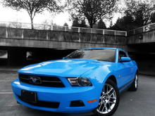 Mustang 2012 Pony Package