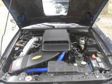 CDC Shaker, Blue Hi-Temp raditor Hose Kit #1
