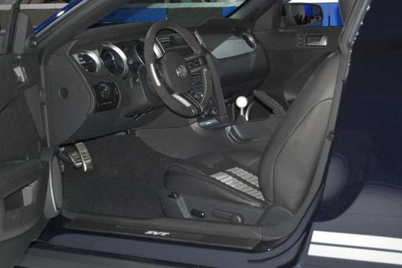 2010 Ford Mustang Shelby GT500 Interior