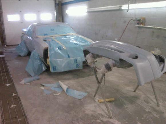 car finnally sees some primer
