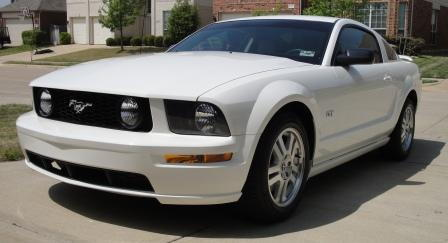 My 2007 Mustang after I bought it, but before I modified it.