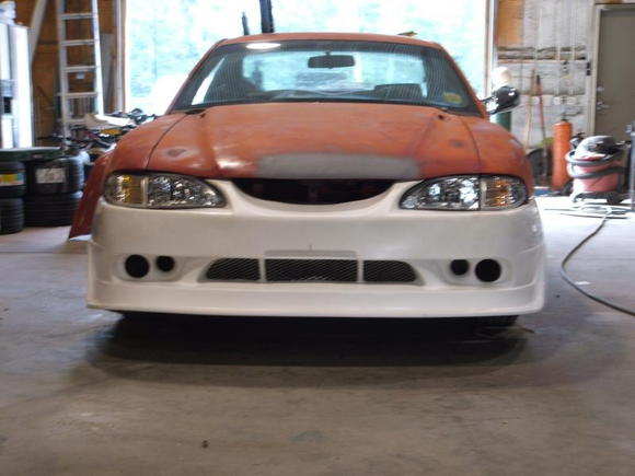 Cobra-R modified bumper