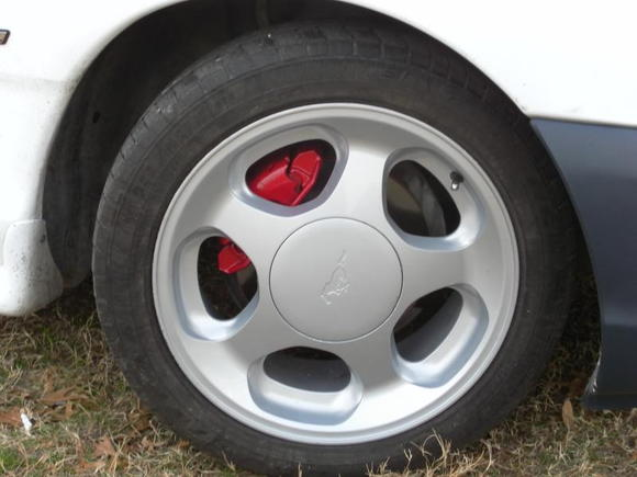 my cobra wheels that have just been painted 05 f-150 silver to make sure I don't see anymore like them.