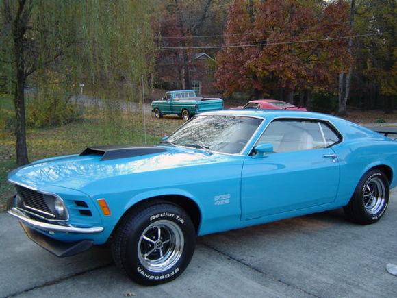 my 1970 grabber blue