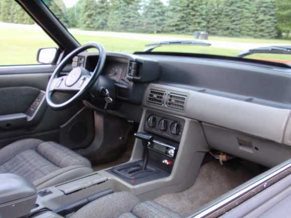 interior, stock and in very good shape