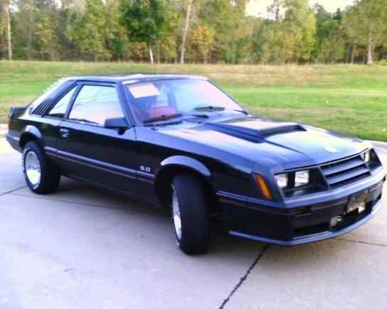 Mustang LEFT
