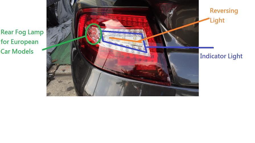 porsche 996 tail light wiring diagram get free image