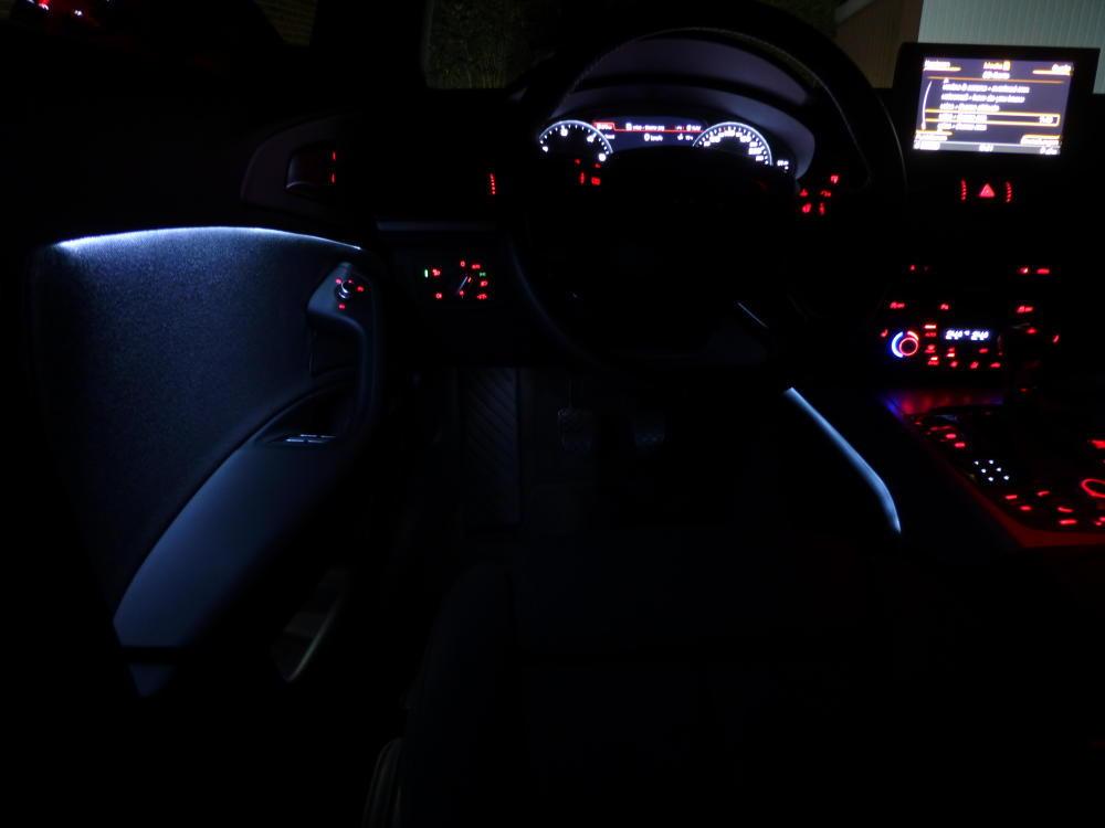 Ambient Lighting Full Brightness Audiworld Forums