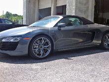 OEM R8 Black Optic Wheels (New)/Michelin Pilot Super Sports For Sale