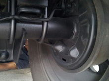 Longer U bolts to fit the metal spacers under the leaf springs