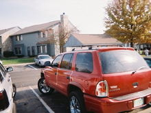 my 1999 dodge Durango...the worst vehicle I ever bought...lol