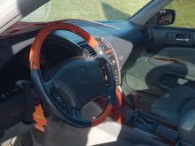 My Lexus's beautiful interior.