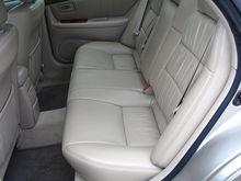 ES300 - back seat