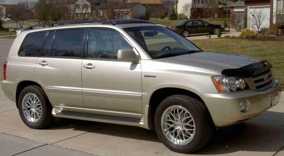 2002 Toyota Highlander Limmited