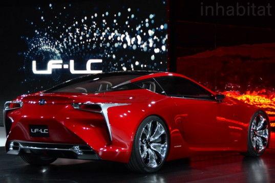 lexus lf lc concept car hybrid 2 537x358