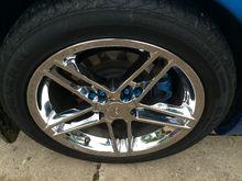 C6 ZO6 Chrome Wheels