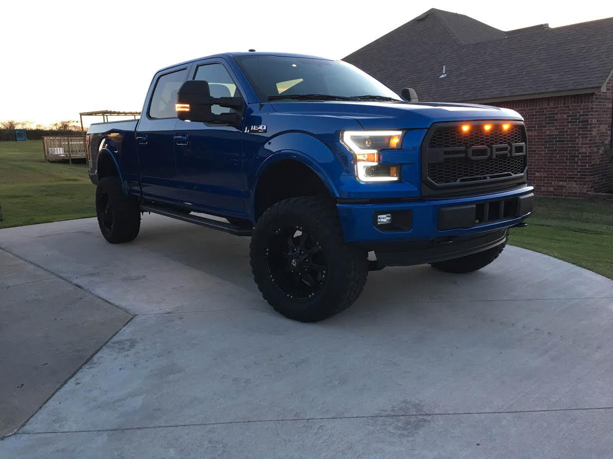 F150 Tail Lights >> Raptor Style Grill Lights F150   Autos Post