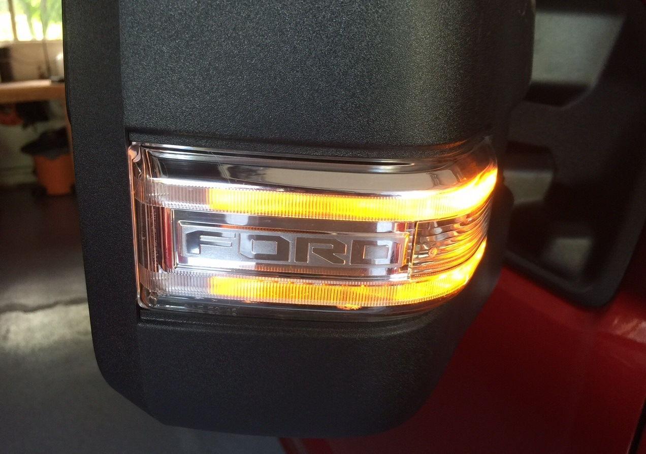 2015 Ford F150 Trailer Tow Mirror Rh Fl32 17682 Aj