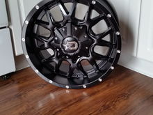 Got new 19x9 dropstars today got them with a +18 offset wanted a wider stance with the bigger tires...