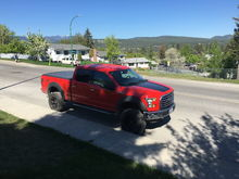 """6"""" BDS lift with coilers, Fox Shocks, 20"""" Fuel wheels, 325/65R20 BFG A/T KO2 tires"""
