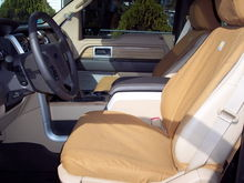 Front Carhartt seat covers
