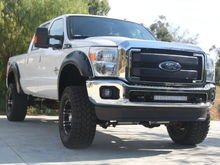 Blacked out grill bars