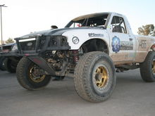 PM Truck Wheels/Kibbetech Racing Class 1450 Ford Ranger Sitting On Race Forge Beadlock Beadlock Wheels
