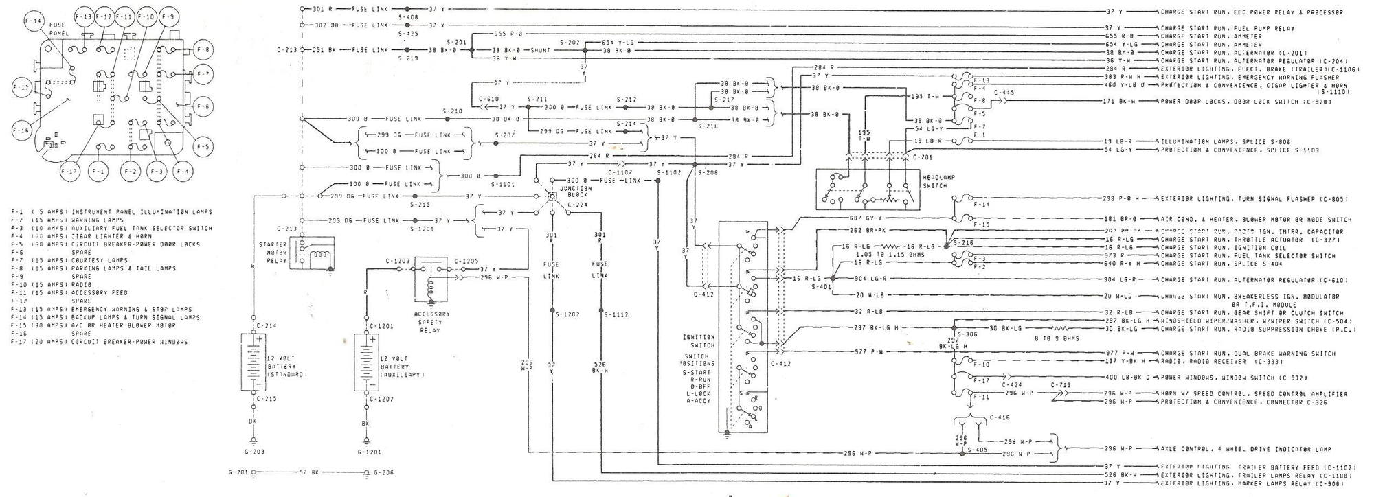 alternator wiring diagram 1984 f150 302  alternator  free