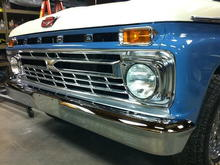 frt bumper and grill