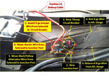 Alternator Gauge Wiring